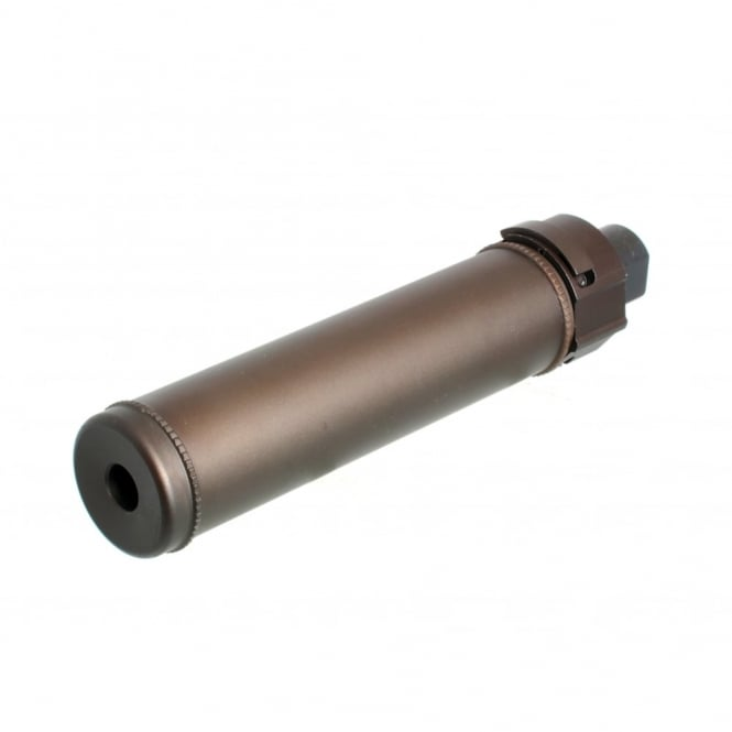 Nuprol BOA 14mm CCW Series Suppressor-Long/Bronze with Quick detach system