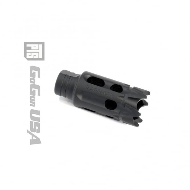 PTS Syndicate Airsoft GoGun SuperComp Talon Flash Hider - CW