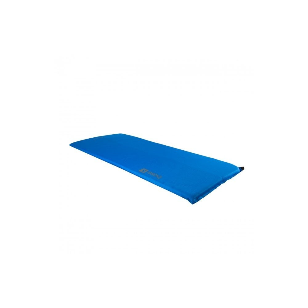 Highlander Outdoor Base Small Self Inflate Mat - Blue 2ce576145