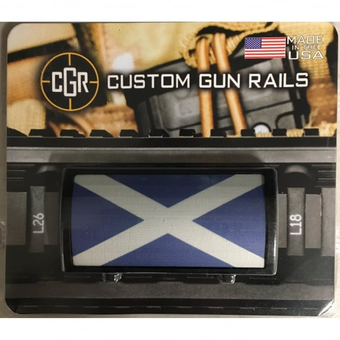LWA Custom Rail Panel-Scotish Saltire