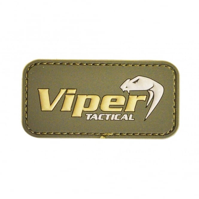 Viper Tactical  Viper Subdued Rubber Logo Patch - Olive Green