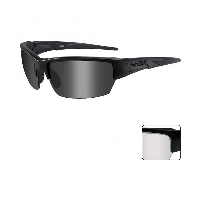 Wiley X  WX SAINT - Smoke Grey + Clear Lenses / Matte Black Frame